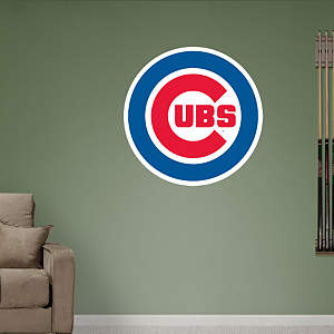 Chicago Cubs Logo Fathead Wall Decal